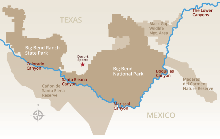 Desert Sports Canyons of the Rio Grande
