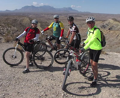 Mountain Biking in Big Bend